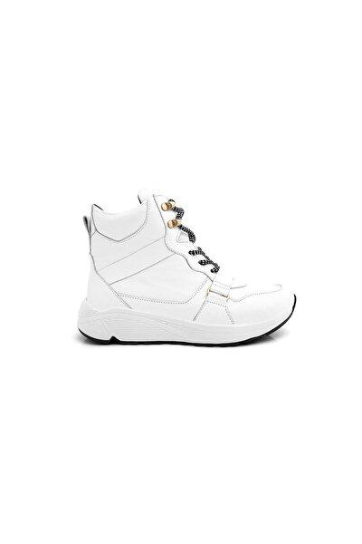 Kadın Beyaz Deri Ayakkabı Dusk