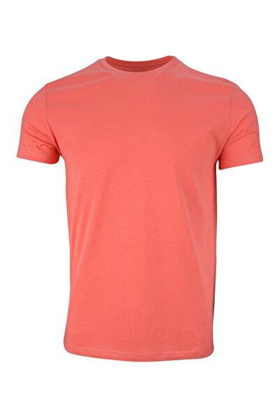 Unisex Turuncu Basic T-shirt