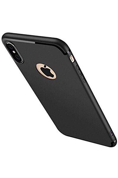 Apple Iphone X Xs Ultra Ince Siyah Mat Tıpalı Kılıf