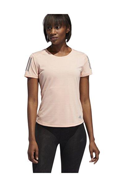 OWN THE RUN Pembe Kadın T-Shirt 100575494