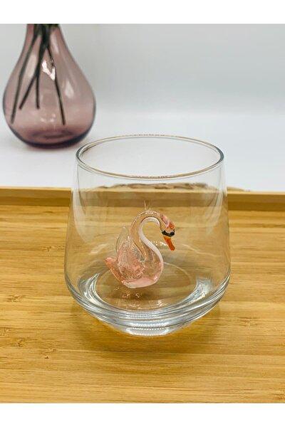 Hayvan Figürlü (kuğu) 6'lı Su Bardağı Seti