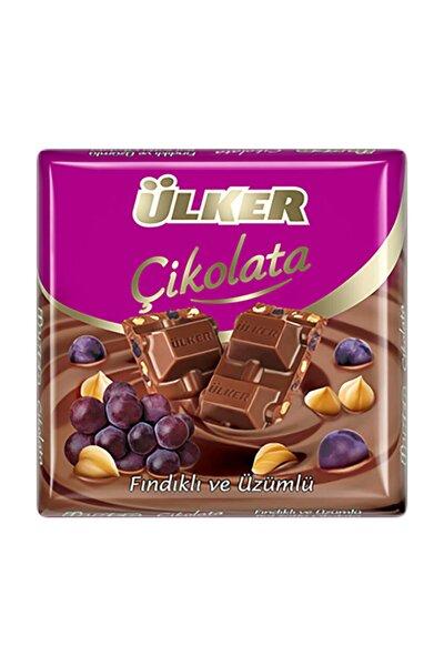 C.Uzümlü Fındıklı Sütlü Kare Çikolata 65 gr