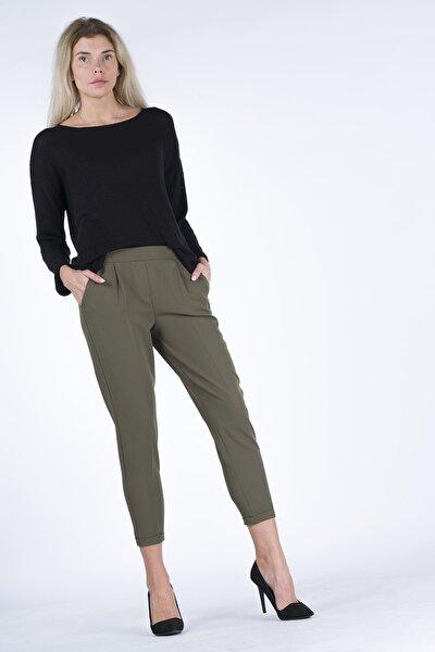 Beli Lastikli Kadın Pantolon P4508