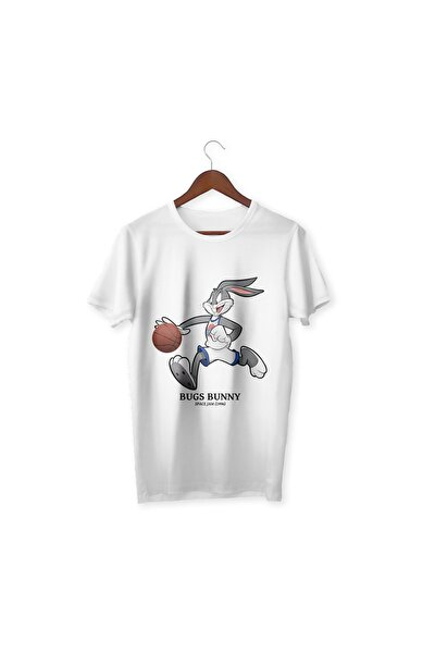 Basketbol Bugs Bunny Çocuk Tişört