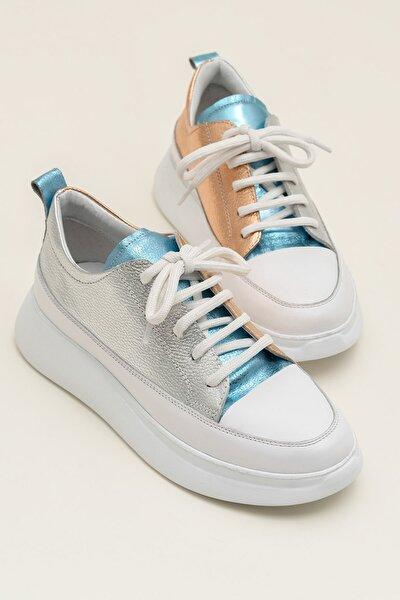 FANCY Metalık Kombin Kadın  Sneaker 20YSE192404