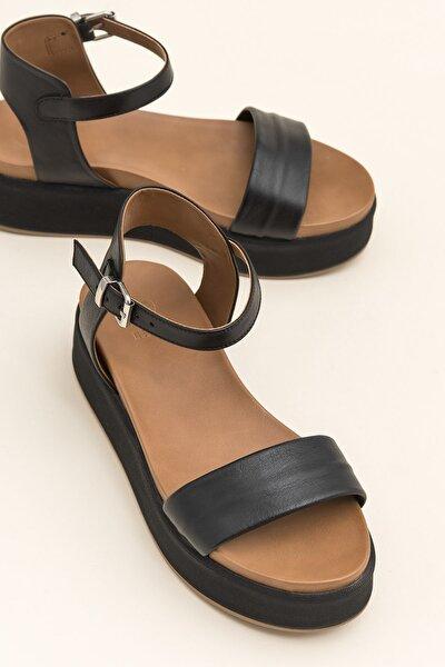 TRUDE Siyah Sandalet 20YLT484015