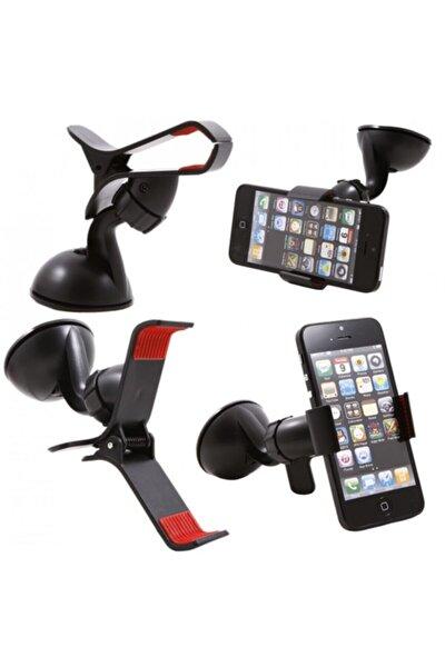 Kıskaçlı Vantuzlu Araç Içi Telefon Tutucu