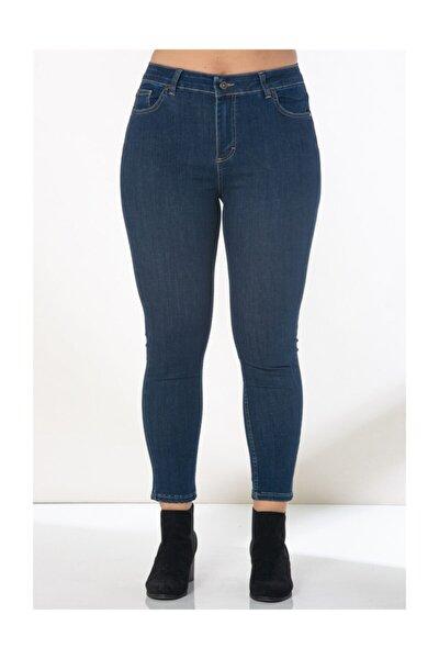 Kadın Lacivert Kot Pantolon 1465
