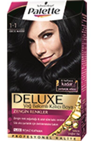 Saç Boyası Deluxe 1 1 Gece Mavisi 50 ml 8690572780855