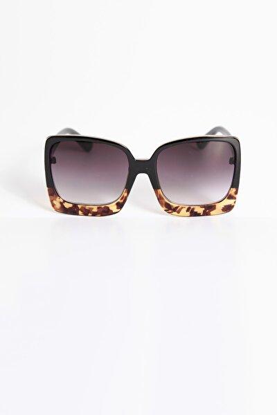 T Tasarım Leoparlı Güneş Gözlüğü