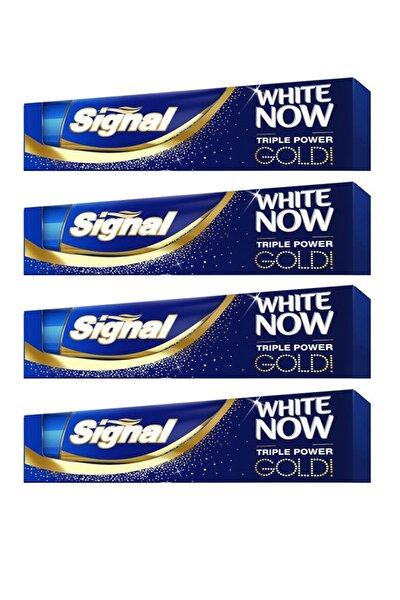 White Now Gold Diş Macunu 75 ml X 4 Adet