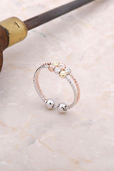 Dorica Renkli Gümüş Yüzük 3005