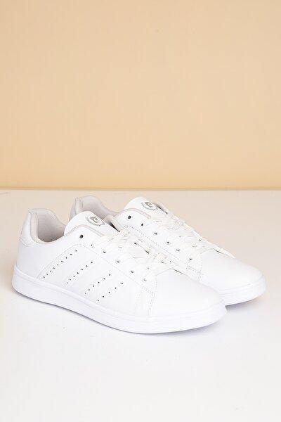 Erkek Günlük Spor Ayakkabı-Beyaz PCS-10152