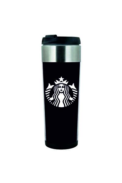 Starbucks Tasarımlı Çelik Termos