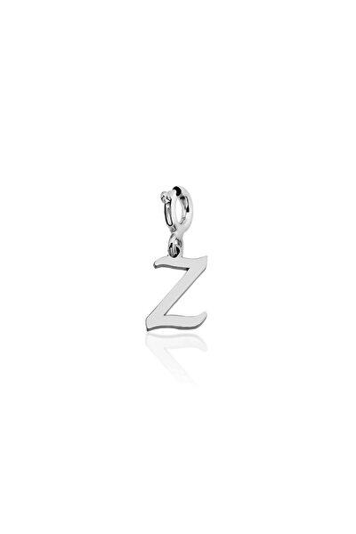 925 Ayar Gümüş Z Harf Charm