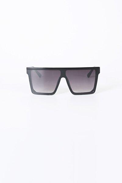 Düz Cam Siyah Degrade Güneş Gözlüğü