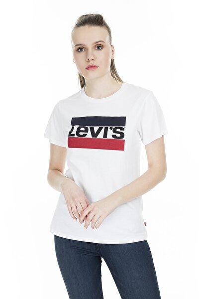 Kadın Sportswear Logo T-shirt 17369-0297