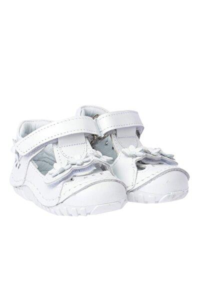 Hakiki Deri Ortopedik Cırtlı Kız Çocuk Ayakkabı