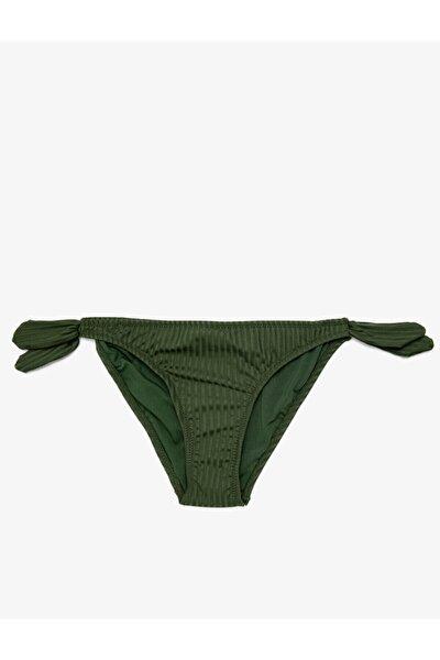 Kadın Normal Bel Beli Baglamali Bikini Alti