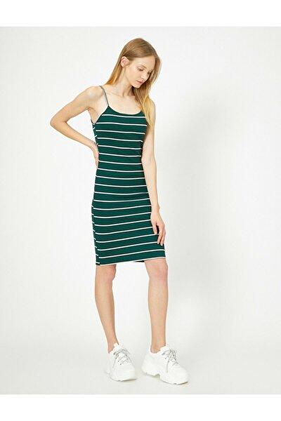 Kadın Yeşil Elbise 0YAL88166IK