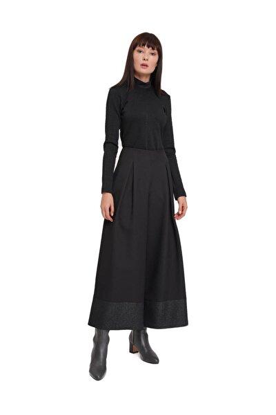 Mızalle Pul Detaylı Pantolon (siyah)