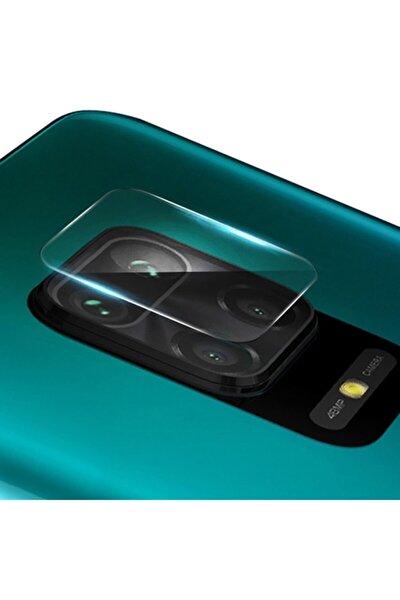 Xiaomi Redmi Note 9 Tempered Cam Arka Kamera Koruyucu Şeffaf