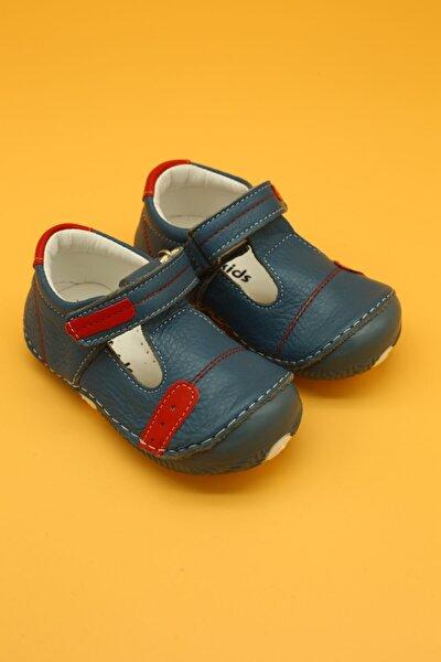 Ortopedik İlk Adım Bebek Ayakkabısı Mavi B107