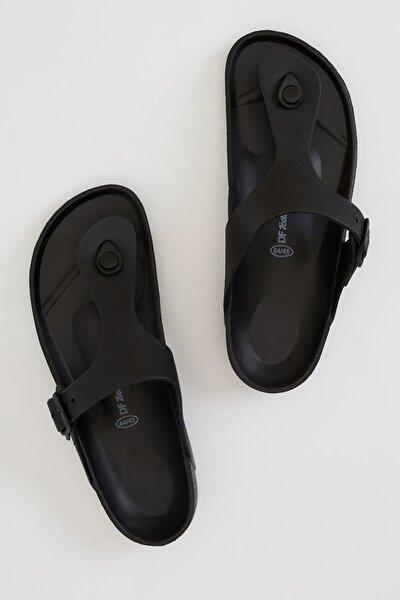 Erkek Siyah Parmak Arası Terlik R5632AZ.20SP.BK23