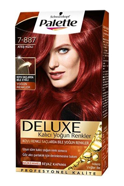Palette Deluxe Ateş Kızılı 7-887