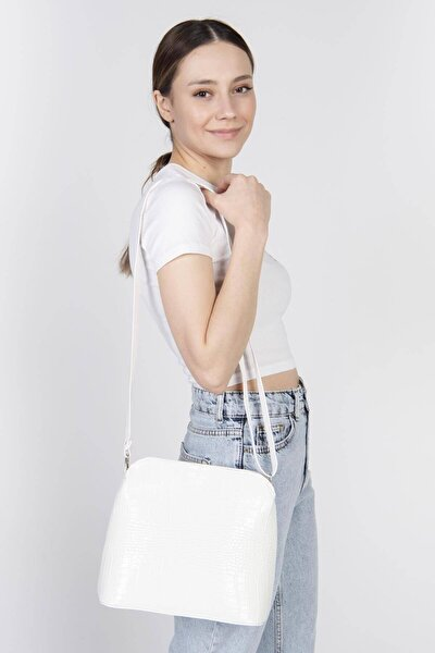 Kadın Beyaz Askılı Çanta Ç121 - V5 ADX-0000017501