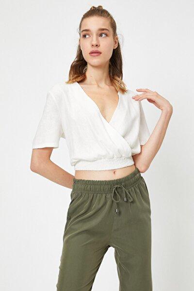 Kadın Beyaz Bluz 0YAL68026IW