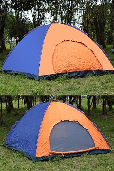 Kamp Çadırı 3 Kişilik Su Geçirmez Çadır Tatil Plaj Deprem