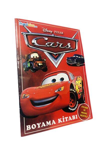Cars Boyama Kitabı Sticker Maske Hediyeli