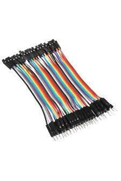 40 Pin Dişi Erkek 10 Cm Jumper Kablo