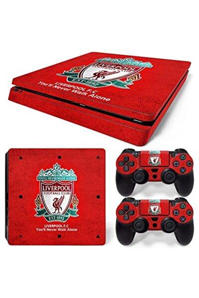 Liverpool Playstation 4 Slim Kasa Sticker Kaplama
