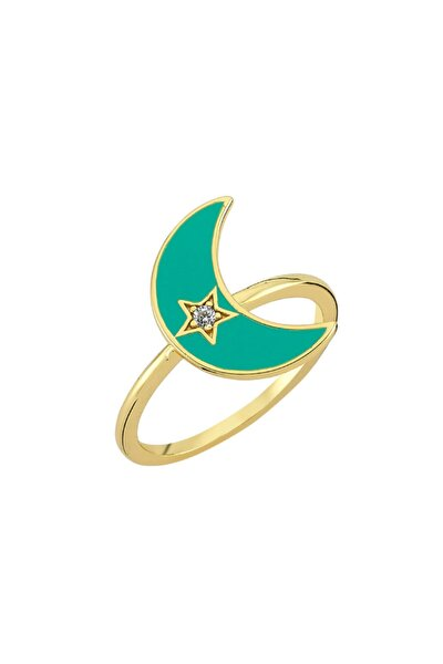 Amz. Yüzük 925 - 2 - Yeşil