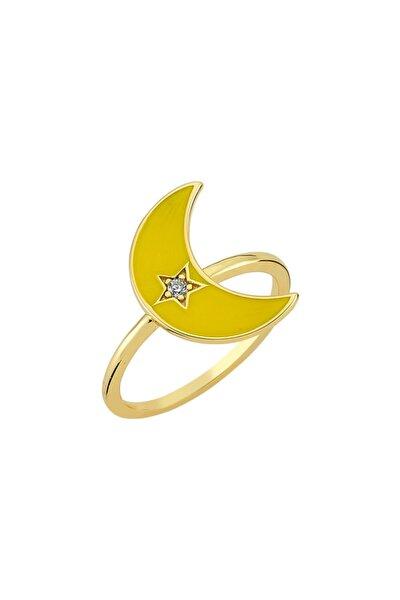 Amz. Yüzük 925 - 2 - Sarı
