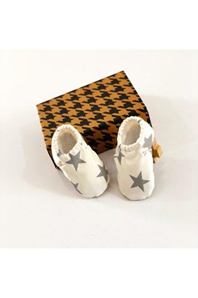 Unisex Bebek Beyaz Patiği
