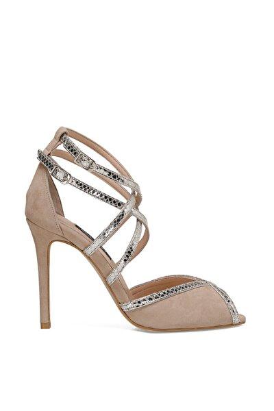 TROBA Vizon Kadın Topuklu Sandalet 100526686