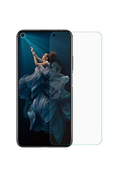 Huawei Nova 5t Cam Ekran Koruyucu Ultra Ince Kırılmaz Blue Nano Şeffaf