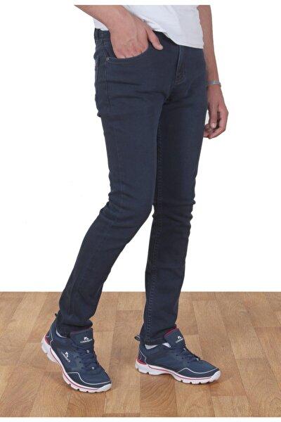 K-5048 Erkek Slimfit Pamuklu Az Taşlamalı Dar Paça Kot Pantolon