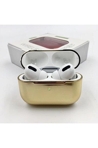 Pro Bluetooth 5.0 Kulaklık Apple Iphone Android Uyumlu Bluetooth Kulaklık-gold