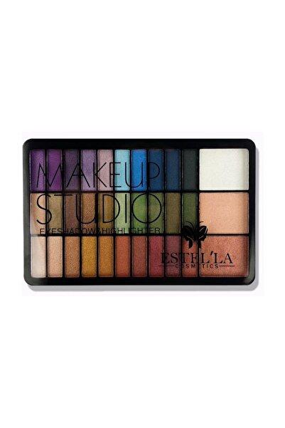 Makeup Studio 33'li Set Renkli Far Paleti