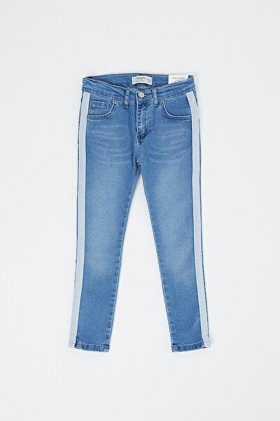 Kız Çocuk Lacivert Kot Pantolon