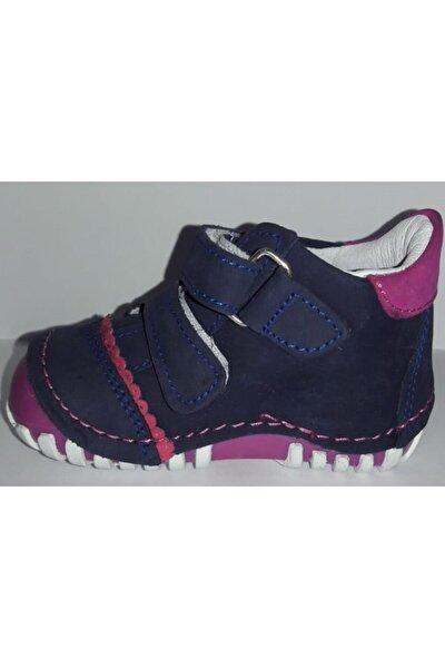 Pappikids237 Ortopedik Deri Kız Çocuk Ilk Adım Ayakkabısı Bot