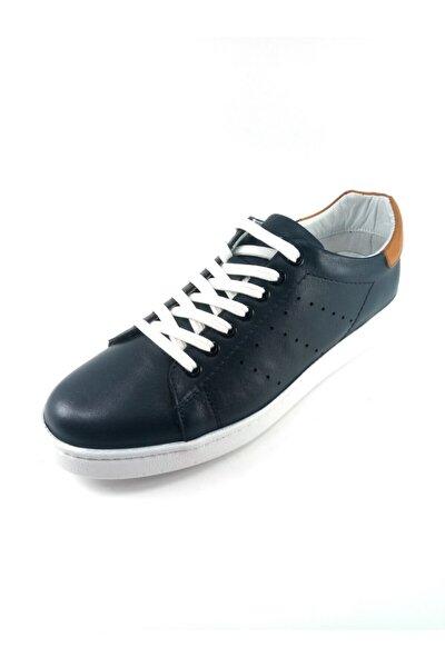 Erkek Lacivert Spor Ayakkabı