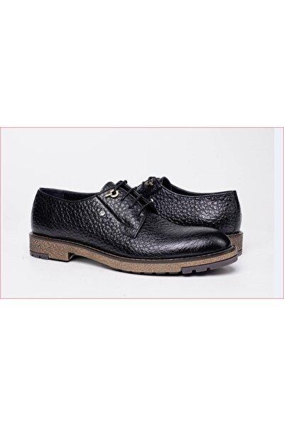 Erkek Kahverengi Hakiki Deri Ayakkabı 63225