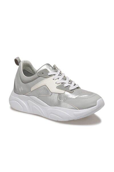 LEMONA Gümüş Kadın Kalın Taban Sneaker Spor Ayakkabı 100510418