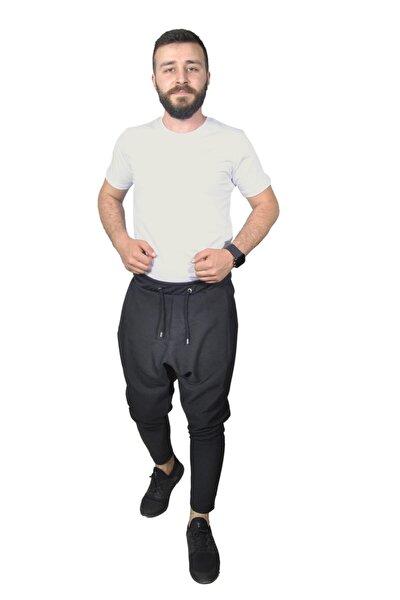 Unisex Siyah Şalvar Model Pantolon
