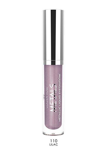 Likit Metalik Göz Farı - Metals Metallic Liquid Eyeshadow No:110 Lilac 8691190137601